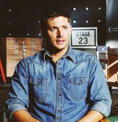 GAH. <3 #SupernaturalCast #JensenAckles #IsPerfect