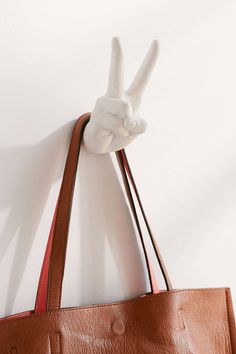 Peace Sign Wall Hook - Urban Outfitters