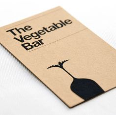 The Vegetable Bar branding project by Magpie Studios.