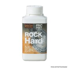 NAF Five Star Pro Feet Rock Hard 250ml A premium hoof hardener developed to protect brittle hooves strengthen soft soles and disinfect frogs prone to