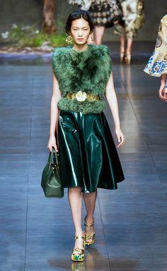 Dolce & Gabbana, Milan Primavera - Verano 2014