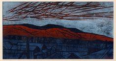 Tadashige Ono, woodcut