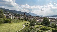 Zug - Switzerland's city of views.