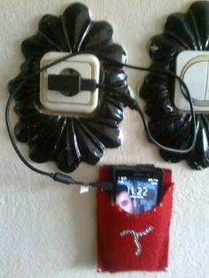 telefon şarj askısı