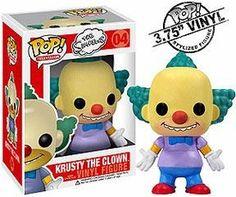 Funko POP! Simpsons Vinyl Figure Krusty The Clown