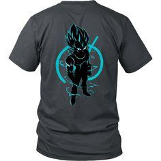 Super Saiyan Vegeta God Men Short Sleeve T Shirt - TL00205SS