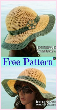 Crochet Sun Hat Free Pattern 15 Amazing Crocheted Sun Hat Free Patterns Diy 4 Ever Crochet Sun Hat Free Pattern Beach Day Sunhat Free Crochet Pattern Celebratemomcal A. Crochet Sun Hat Free Pattern How To Crochet Summer Sun Hat Free . Crochet Adult Hat, Crochet Summer Hats, Crochet Beanie, Free Crochet, Knitted Hats, Knit Crochet, Crochet Hats, Crochet Pattern, Sombrero A Crochet