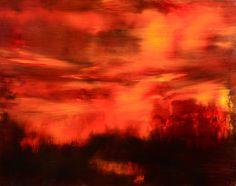 "Saatchi Art Artist Maurice Sapiro; Painting, ""Wild Nights, Wild Nights"" #art"