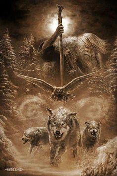 Chernobog ~ Odin