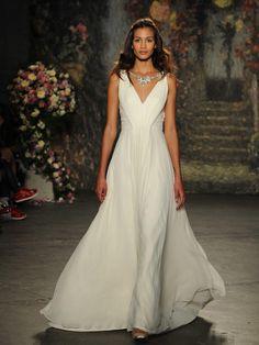1000 images about fleur the find wedding on pinterest for Necklace for v neck wedding dress