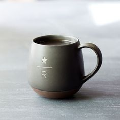 A laser-etched ceramic mug inspired by our Starbucks Reserve<sup>®</sup> coffees.