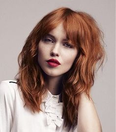 Layered haircuts work for all hair textures and face shapes. We collected dozens of medium layered haircuts to help you choose, read on! Bangs With Medium Hair, Medium Hair Cuts, Long Hair Cuts, Medium Hair Styles, Long Hair Styles, Straight Hair, Long Shag Haircut, Haircut For Thick Hair, Haircuts With Bangs
