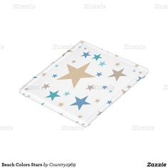 Shop Beach Colors Stars Glass Coaster created by Personalize it with photos & text or purchase as is! Beach Color, Glass Coasters, Star Patterns, Print Design, Stars, Colors, Prints, Artwork, Decor