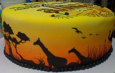 Safari Cake | Flickr - Photo Sharing!