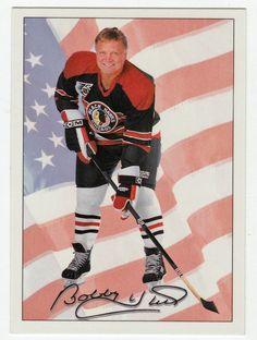 Bobby Hull # 77 - 1991-92 Upper Deck Ultimate Original Six Hockey