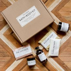 A selection of handcrafted bath+body indulgences for relaxation, detoxification and exceptional skin nourishment.  Fig+Yarrow Coffee/Medow Bath & Body Kit