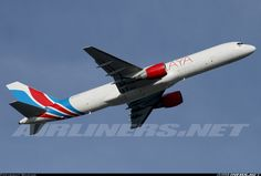 Raya Airways 9M-RYA Boeing 757-26D(PCF) aircraft picture