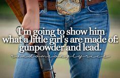 Miranda Lambert - Gunpowder and Lead .... http://youtu.be/yyGAvulgWmw