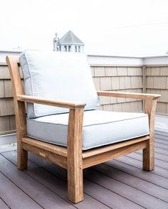 Chelsea Chair - Outdoor Design by Sage Market + Design, Newburyport, MA
