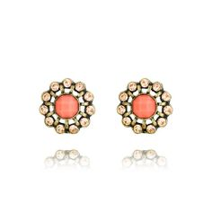 Seascape Stud #Earrings by Chloe and Isabel. Only $24! There's no better jewelry box staple than the sparkly stud. A classic shillouette with a pop of color means you'll be adding this colorful pair to your everyday rotation in no time. Available in both #coral + #turquoise, you'll have a hard time picking favorites! www.chloeandisabelseattle.com