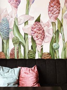 Lots Of Wonderful And Creative Home Interior Design Ideas Decorating Tips, Interior Decorating, The Brunette, Pink Throw Pillows, Accent Pillows, Hacks, Home Interior, Scandinavian Interior, Interior Design