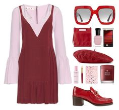 """""""feel my love."""" by the-vagabond ❤ liked on Polyvore featuring Marni, Gucci, Deborah Lippmann, Orlane, Tri-coastal Design, Molton Brown, Cartier, L'Oréal Paris, NYFW and Fall"""