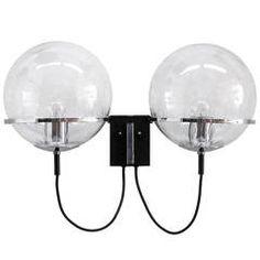 RAAK Double Globe Wall Light