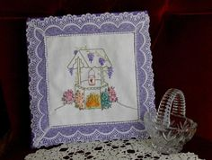 (10) Name: 'Embroidery : The Wishing Well Drawer Sachet