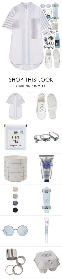 """""""Untitled #351"""" by m4k4y14 ❤ liked on Polyvore featuring 3.1 Phillip Lim, ASOS, NOVICA, &klevering, L'Occitane, Terre Mère, Faber-Castell, Avon, Maison Margiela and Full Tilt"""