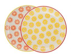 Tableware GE Daisy Side Plate Asst