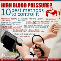 High #BloodPressure - natural way to control it ! @healthyss99
