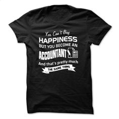 Happiness and Accountant T Shirts, Hoodies, Sweatshirts - #hoodie #linen shirt. I WANT THIS => https://www.sunfrog.com/Funny/Happiness-and-Accountant.html?id=60505