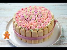 "Праздничный Торт ""Корзина с Цветами"" ✧ Cake With Flowers - YouTube"