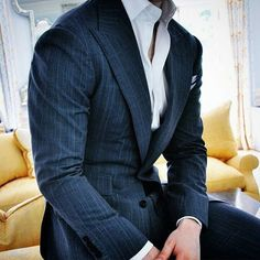 Whil I always recommend a tie with a suit, I cant deny this looks extremely well put together.