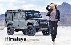 Love my Landy  Nice Limited Edition 'Himalaya' 110 Defender.