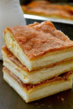 The Best and Easiest Sopapilla Cheesecake Bars - These Sopapilla Cheesecake Bars are to-die for! Rich, creamy, cinnamon sugary delights that are a cinch to make!