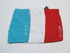 TOMMY HILFIGER Men Light-Weight Slim Fit Casual Shorts NEW NWT  #TommyHilfiger #CasualShorts