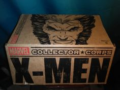 Take a look inside Collector Corps' December mystery box featuring X-MEN!