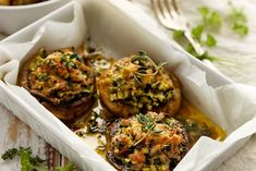A delicious start to any gathering, Stuffed Mushrooms make a festive and easy appetizer for any occasion. Perfectly portioned bite-size goodness, these stuffed mushrooms are a perennial favorite. Ifirst tasted these savory morsels at Oregon's landmark Timberline Lodge. Since then, they've always found a place on the appetizer table! Ingredients 2 pounds fresh mushrooms...