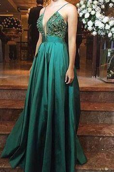 Spaghetti Prom Dress,Sequins Prom Dress,Satin Prom Dress,Fashion Prom Dress,Sexy Party Dress, New Style Evening Dress