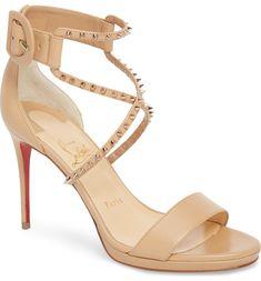 ab106acb101360 Christian Louboutin Choca Lux Spiked Sandal (Women)