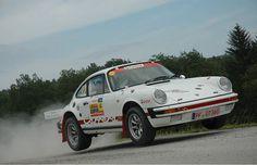 Porsche 911 rally car - historic