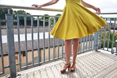 Finsbury Wool Dress in action #twirl