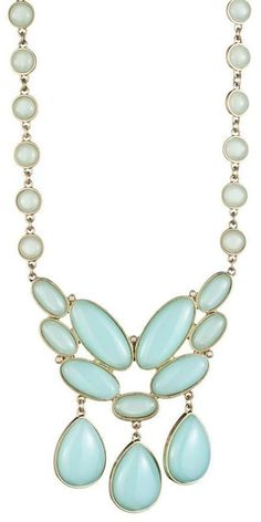 chalcedony necklace..love the colour