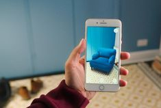 d1779c3618fc The IKEA Place app uses augmented reality to help you choose the correct  size and color furniture for your home.