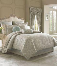 J. Queen New York Colette Damask Comforter Set #Dillards