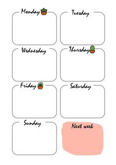18 Genius bullet journal trackers you need to try this month - Almost a mess Bullet Journal Tracker, Bullet Journal Banner, Bullet Journal Notebook, Bullet Journal Ideas Pages, Bullet Journal Inspiration, Week Planer, School Timetable, Weekly Planner Template, Schedule Templates