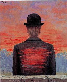 """Rene Magritte ~ """"The Poet Recompensed"""", 1956. #art #surrealism #arthistory"""