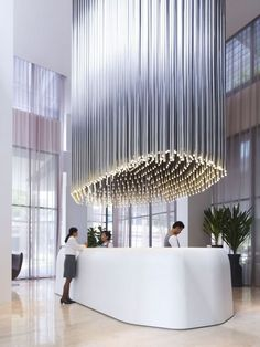 Hotel Lobbies - Grand Entrances | Visit www.contemporarylighting.eu for more inspiring images and decor inspirations