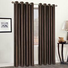 Grommet Single Curtain Panel